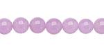 Lavender Colorful Jade Round 8mm