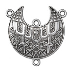 Zola Elements Antique Silver (plated) Oceanid Crescent Focal 43x42mm