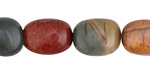Red Creek Jasper Tumbled Nugget 12-17x11-13mm