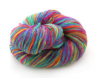 Rainbow Lace Weight Silk Yarn