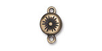 TierraCast Antique Brass (plated) Starburst Magnetic Clasp 17.5x11mm