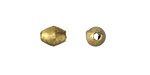 African Brass Polished Brass Rice 8-9x6-7mm