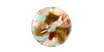 Zola Elements Mermaid Acetate Coin Charm 20mm