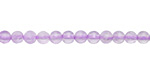 Lavender Amethyst Faceted Puff Coin 4mm