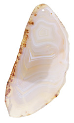 Agate Slice Freeform Pendant 33-65x59-100mm