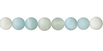 Amazonite (matte multi-color) Round 6mm