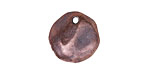 Greek Bronze (plated) Large Hammered Coin Charm 17mm
