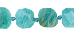 Russian Amazonite Faceted Flat Slab 13-15mm