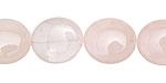 Rose Quartz Flat Oval 16x14mm