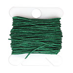 Green Irish Waxed Linen 4 ply