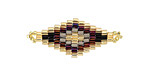 Zola Elements Vineyard Hand Woven Diamond 32x13mm