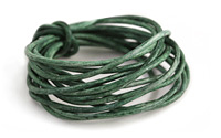 Weathered Basil Leather Cord 2mm