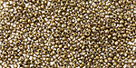 Metallic Antique Gold Round 11/0 Seed Bead