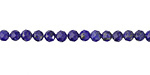 Lapis Faceted Round 4mm
