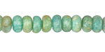 Russian Amazonite (Light) Rondelle 4x8mm