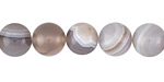 Gray Agate Round 10-10.5mm