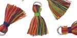 Carnival w/ Jump Ring Thread Tassel 18mm