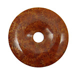Fossil Jasper (red) Donut 45mm