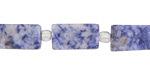 Brazil Sodalite (matte) Brick 15-16x8mm