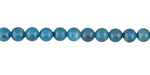 Pacific Blue Apatite Round 5mm