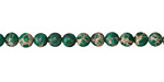 Wintergreen Impression Jasper Round 4mm