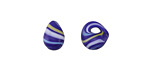 Unicorne Beads Electric Sky Teardrop 9-10x9-10mm