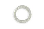 Vintaj Sterling Silver (plated) Hammered Ring 20mm