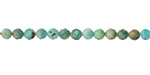 Russian Amazonite (light) Faceted Round 4mm