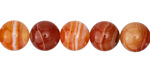 Carnelian (natural) Round 10mm