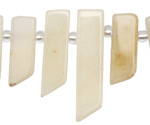 Yellow Jade Stick Slice Focal Set 9-11x26-35mm