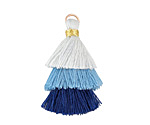 Storm Mix 3-Tiered Tassel 35mm