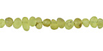 Peridot (matte) Mini Tumbled Nugget 3-6mm