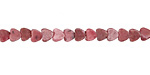Rhodonite Heart 4mm