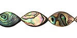 Abalone Horse Eye 18x10mm