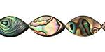 Abalone Horse Eye 18x10mm