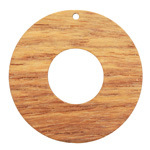 Walnut Wood Donut Focal 45mm