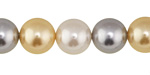 Classic Shell Pearl Mix Round 12mm