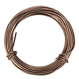 Artistic Wire Aluminum Brown 12 Gauge, 12 meters