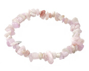 Kunzite Chips Stretch Bracelet