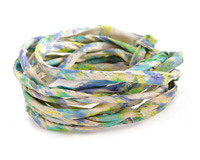Oceanside Recycled Sari Silk Cord
