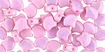 Metallic Pink Luster Matubo Ginkgo Leaf 7.5mm Seed Bead