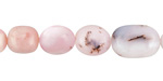 Pink Opal Graduated Tumbled Nugget 5-15mm