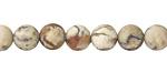 African Opal (matte) Round 8mm