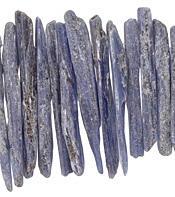 Kyanite Graduated Natural Fringe 30-65mm