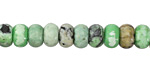 Grass Green Turquoise Rondelle 8mm