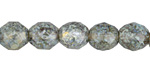 Czech Fire Polished Glass Moonlit Waters Picasso Round 10mm