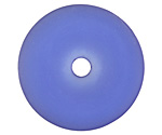 Royal Blue Recycled Glass Donut 40mm