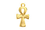 Greek Gold (plated) Ankh 14x27mm