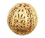Brass Filigree Ball 32mm