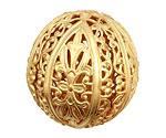 Brass Filigree Ball 32mm